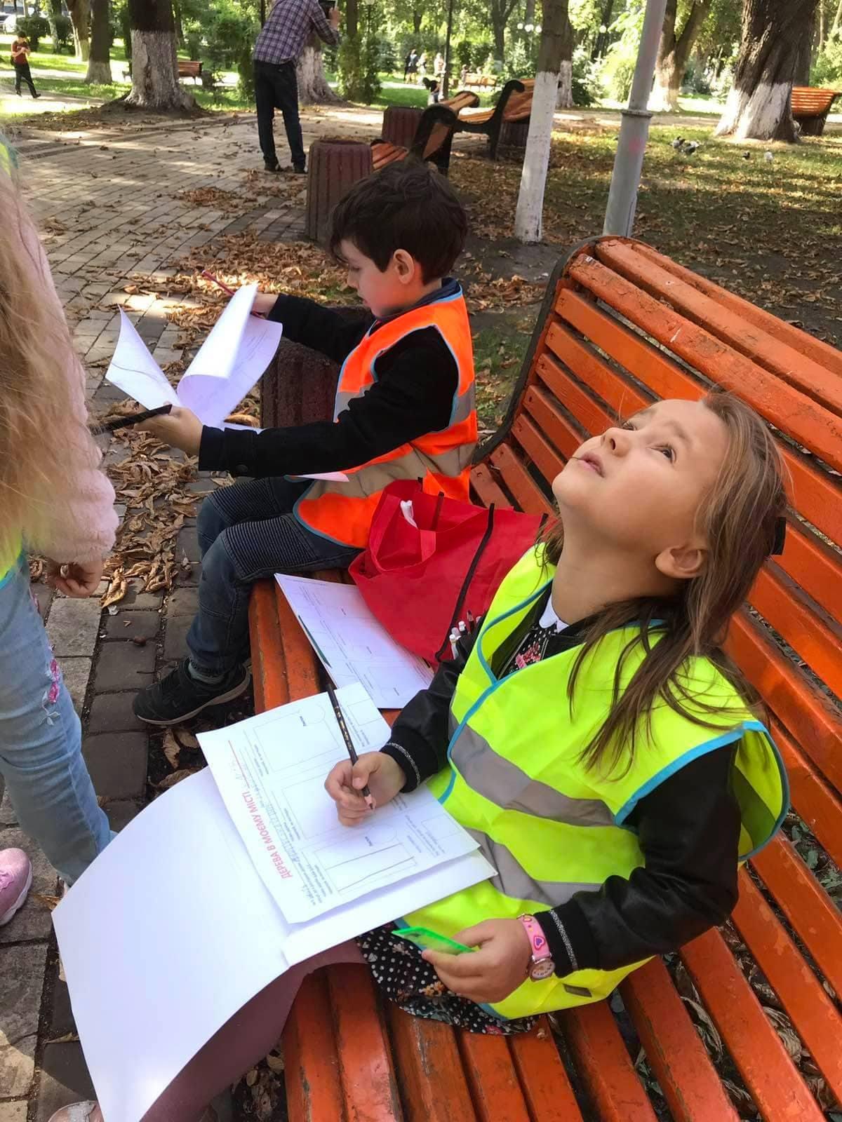 Урок у Маріїнському парку: Mainstream School не обмежує навчання стінами школи!